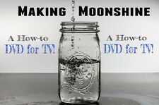 Moonshine How to DVD for TV. Distilling, Make a Still, Whiskey, & other Spirits