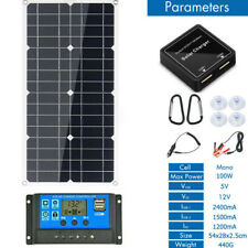200W 12V Mono Flexible Solar Panel W/10A Controller For Car Phone Charge Panel