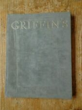 The Griffin's Club 1964 1984 Genève Frédéric Dard