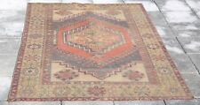 "Decorative Area Rug 3'5""x5'7"" Runner Hallway Rug Turkish Oushak Ethnic Rugs 1257"