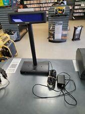 Posiflex Pd 2600r B Pd 2600 Customer Display Serial Usb Adapter Pole Base