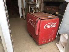 Antique Coca-Cola Cooler Coke  Machine