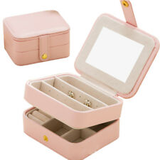 Gift Jewelry Box Travel Portable Storage Case for Earring Necklace Bracelet Ring