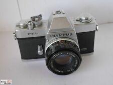 Olympus FTL SLR-Kamera Objektiv F.Zuiko 1,8/50mm M42 Offenmessung TTL