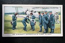 RAF School of Technical Training  Halton  Apprentices Flights  Vintage Card  VGC