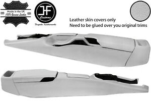 WHITE REAL LEATHER FULL CONSOLE COVER FOR PORSCHE 987 BOXSTER CAYMAN