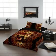 FIRE OF THE TIGER - Duvet & Pillows cover set - Kingsize Bed /NEXT DAY DELIVERY