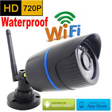 ip camera 720p HD wifi wateproof cctv security system wireless No Power supply