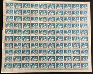 HONDURAS 1963 Red Cross Nurse Medical Sheet MNH (100 Stamps) LA04