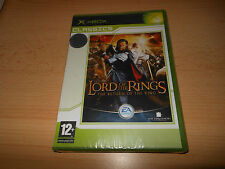 NUOVO E SIGILLATO Lord of the Rings: RETURN OF THE KING XBOX PAL VERSIONE