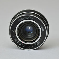 Industar 69 2,8/28 M39 Gewinde LD Objektiv f/2,8 Linse 28mm made in ussr