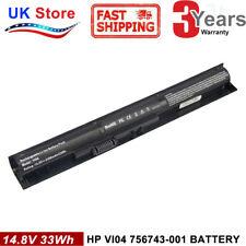 Battery for HP Pavilion 15 17 notebook V104 756479-421 756743-001 Envy 14 15 PC