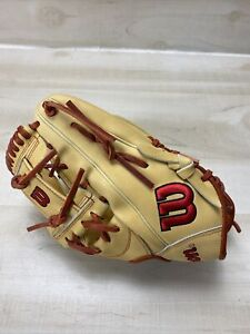 "2021 Wilson A2000 1787 11.75"" Infield Baseball Glove RHT ** NEEDS SIMPLE REPAIR"