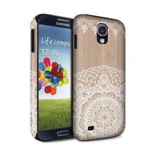 Housses et coques anti-chocs Samsung Galaxy S6 en bois, bambou pour téléphone mobile et assistant personnel (PDA)