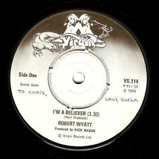 ROBERT WYATT I'm A Believer Vinyl Record 7 Inch Virgin VS 114 1974