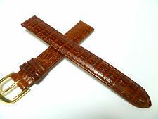 15 mm BRAUN UHRENARMBAND ARMBAND TEJU OPTIK UHRENBAND LEDER 1552