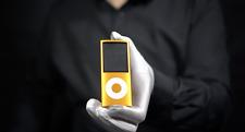 Genuine Apple iPod Nano 4th Gen 8GB Orange - *The Masked Man*