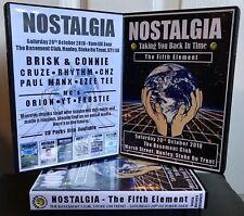 Nostalgia CD pack - The Fifth Element Brisk [ Dreamscape Fantazia Kinetic ]