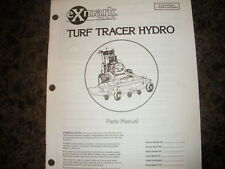 Exmark turf tracer hydro 115,000 & higher parts manual ipl 850401
