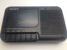Vintage Sony TCM-818 portátil reproductor de Cassette, Grabadora En Caja Con Manual