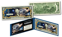Space Shuttle ENDEAVOUR Missions Official Legal Tender U.S. $2 Bill NASA