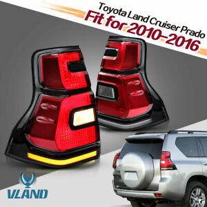 VLAND LED Tail Lights for Land Cruiser Prado KDJ150 10-18with Dynamic Indicator