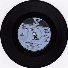 "THE KINKS YOU REALLY GOT ME ORIGINAL PYE MINI MONSTER 1971 RECORD UK 7"" 45rpm"