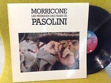 LP BO OST - Les films de PASOLINI  -  ENNIO MORRICONE - GENERAL MUSIC 803.072