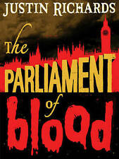 """VERY GOOD"" The Parliament of Blood, Richards, Justin, Book"