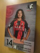 67569 Cinzia Zehnder SC Freiburg Damen Frauen original signierte Autogrammkarte