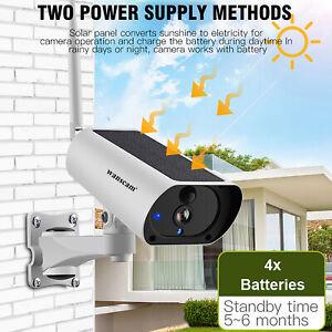 Wanscam 1080P Solar Power WiFi IP Camera 4X Zoom PIR Detection TF Card Slot M2L7
