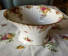 Royal albert old country roses flutted bowl