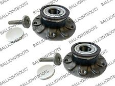 2 x VW Golf Plus Rear Hub Wheel Bearing Kits with ABS Ring 2005-2015 - New