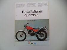 advertising Pubblicità 1977 MOTO FANTIC CABALLERO TRIAL 125
