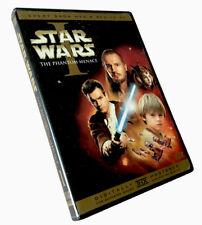 Star Wars Episode I: The Phantom Menace (DVD, 2001, 2-Disc Set, English/French