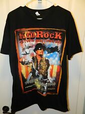 """""""Kid Rock"""" Future Senator New unworn Tour Shirt 2009 for the Troops Sz L Made In"""