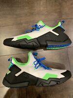 Nike Air Huarache Drift Men's Shoes White/Black/Blue Nebula AH7334-102 Size 11.5