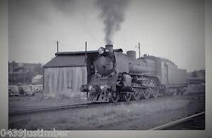 Victorian Railways Steam A2 986 Departing North Melbourne Loco Depot 26 Jan 1960
