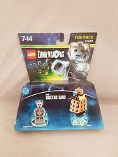 LEGO Dimensions 71238 Doctor Who Cyberman Figure & Dalek Fun Pack new