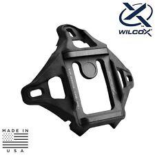 Wilcox 56100G34 L4 3-Hole Helmet Shroud - Black