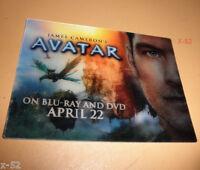 AVATAR 3-D exclusive CARD james CAMERON movie NAVI Sam Worthington 3D lenticular