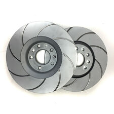 Astra Turbo VXR 321mm 240hp Grooved Front Vented Brake Discs Vauxhall Opel Race