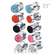 Crystal Earrings & Studs for Men
