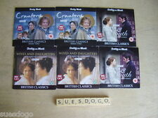 NORTH & SOUTH, WIVES & DAUGHTERS, CRANFORD - 6 ELIZABETH GASKELL PROMO DVDS