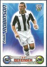 TOPPS MATCH ATTAX 2008-09-WEST BROMWICH ALBION-PAUL ROBINSON