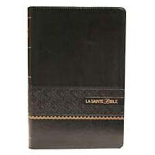 French Bible LARGE PRINT, Louis Segond 1910 Imitation Leather Black