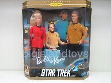 Star Trek 1996 BARBIE and KEN 30th Anniversary Boxed Set 2 Pack