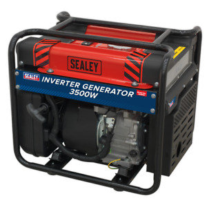 GI3500 Sealey Inverter Generator 3500W 230V 4-Stroke Engine [Generators]