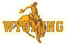 University of Wyoming   (College)  Vintage-Looking  Travel Decal Sticker