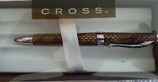 Cross Torero Desert Diamondback Leather Ballpoint Pen NIB